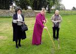 Image: Consecration of the churchyard extension 2017