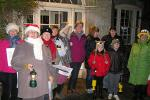 Image: Carol singing outside the Manor 2011